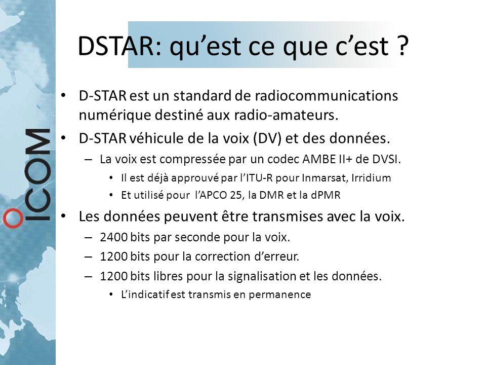 DSTAR: qu'est ce que c'est