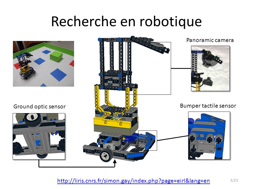 Recherche en robotique