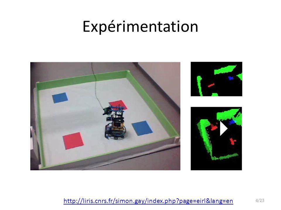 Expérimentation http://liris.cnrs.fr/simon.gay/index.php page=eirl&lang=en oliviergeorgeon.com