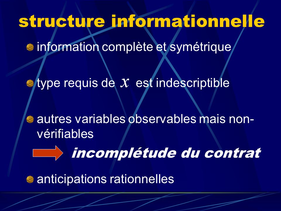 structure informationnelle
