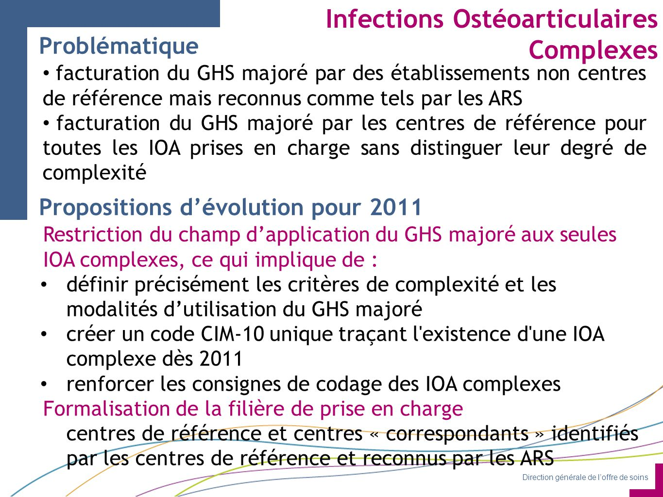 Infections Ostéoarticulaires Complexes