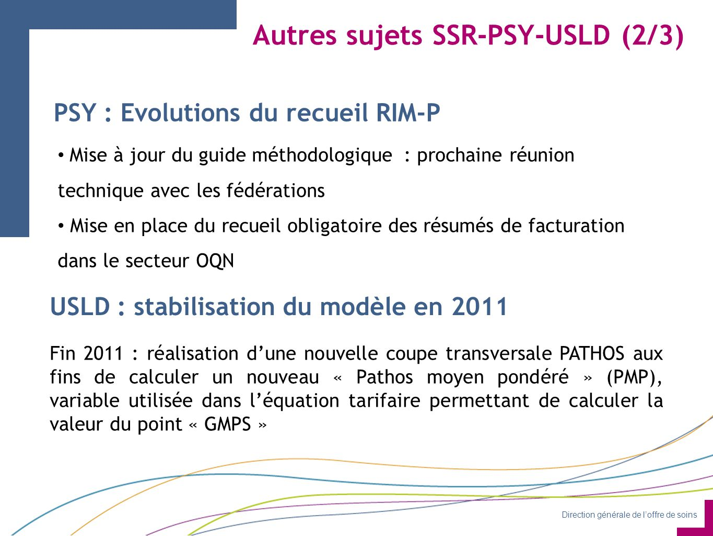 Autres sujets SSR-PSY-USLD (2/3)