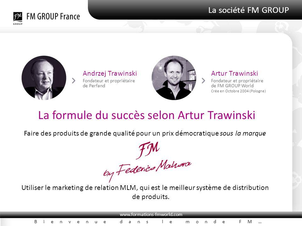 La formule du succès selon Artur Trawinski