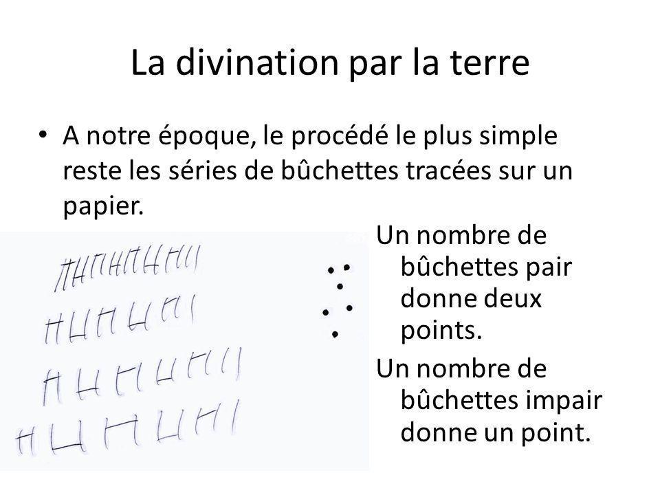 La divination par la terre