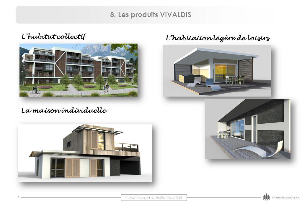 8. Les produits VIVALDIS L'habitat collectif
