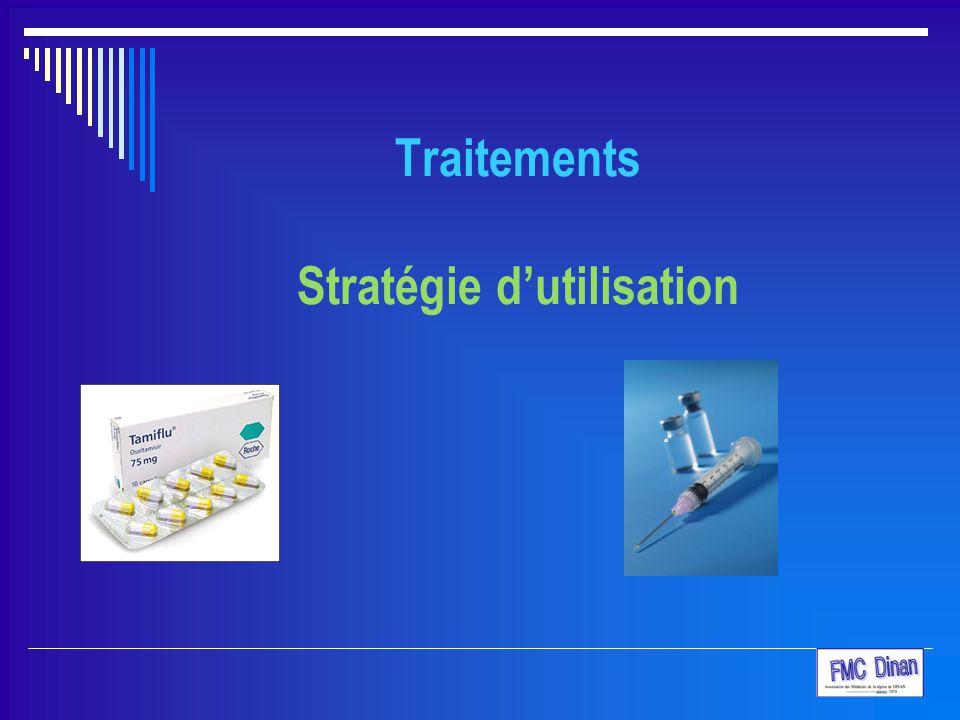 Traitements Stratégie d'utilisation