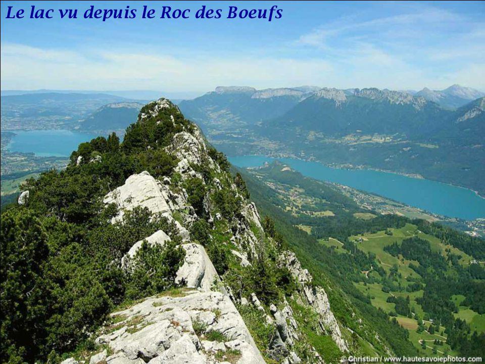 Le lac vu depuis le Roc des Boeufs