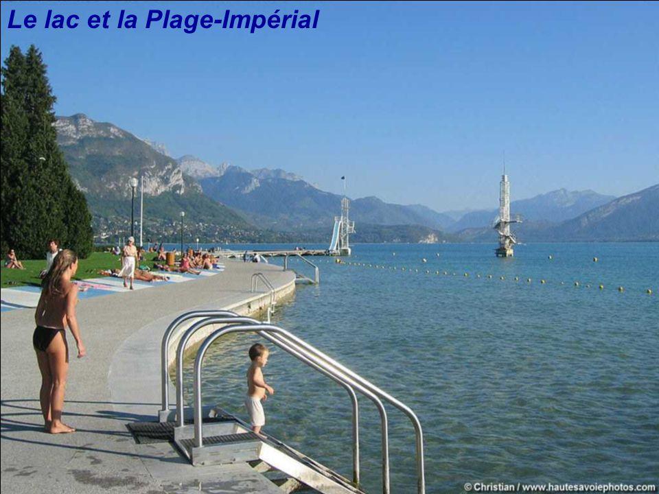 Le lac et la Plage-Impérial
