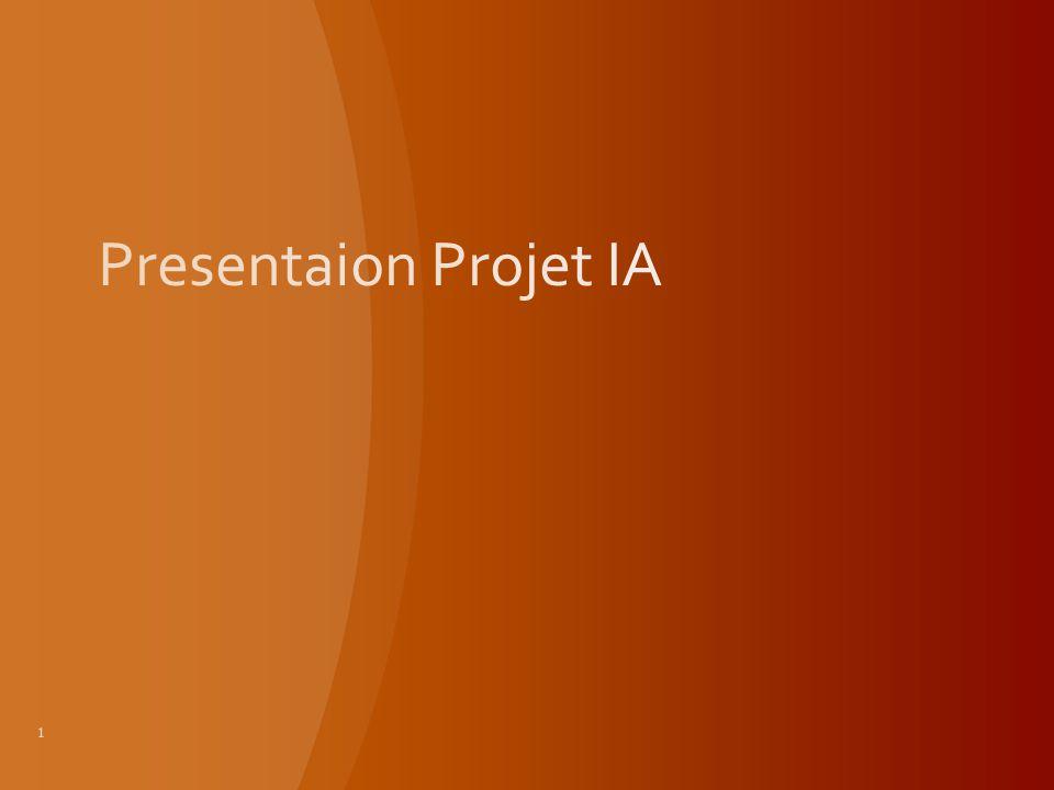 Presentaion Projet IA