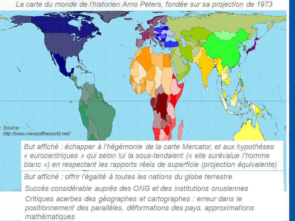 But affiché : offrir l'égalité à toutes les nations du globe terrestre