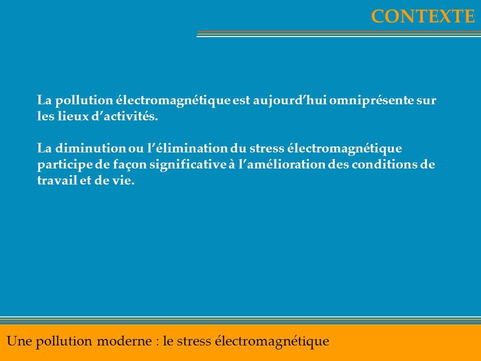 CONTEXTE Une pollution moderne : le stress électromagnétique