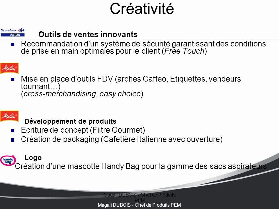 Créativité Outils de ventes innovants