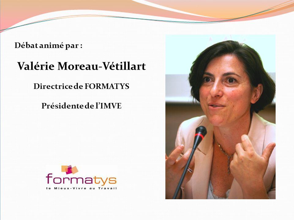 Valérie Moreau-Vétillart Directrice de FORMATYS