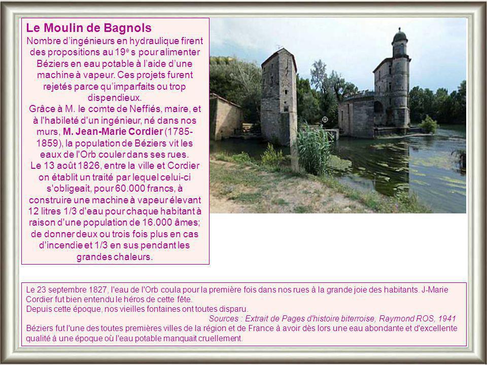 Le Moulin de Bagnols
