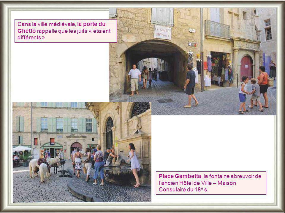 Dans la ville médiévale, la porte du Ghetto rappelle que les juifs « étaient différents »