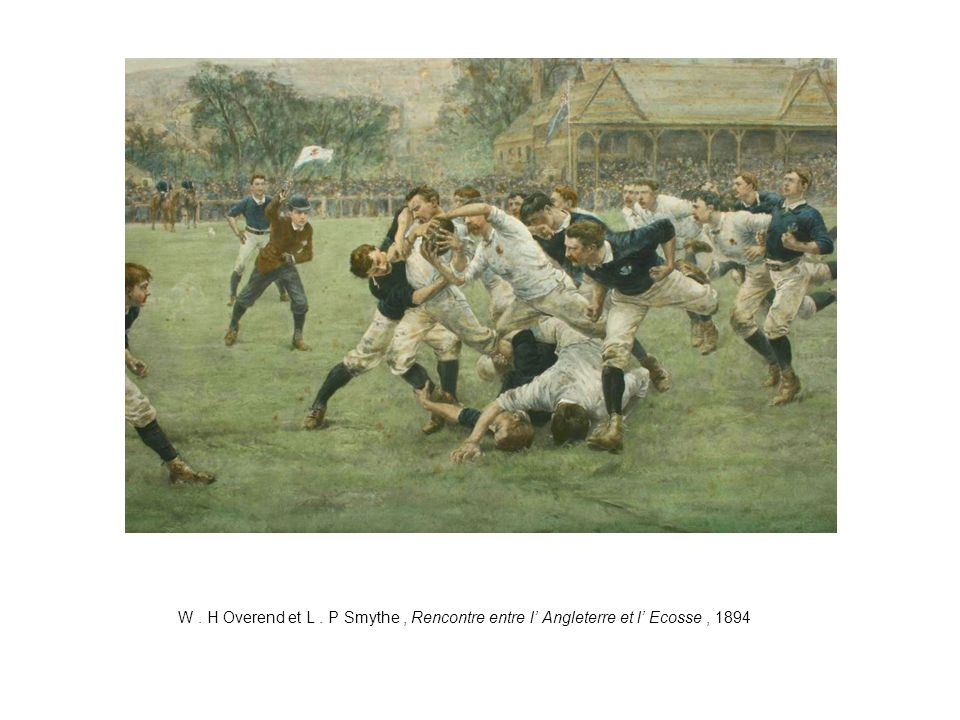 W . H Overend et L . P Smythe , Rencontre entre l' Angleterre et l' Ecosse , 1894