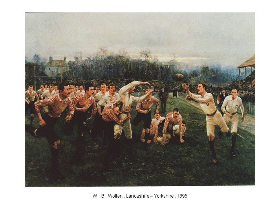 W . B . Wollen , Lancashire – Yorkshire , 1895