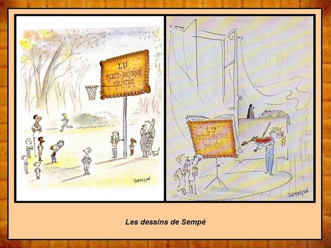 Les dessins de Sempé