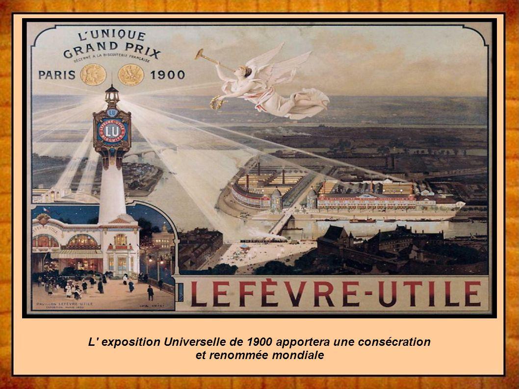 L exposition Universelle de 1900 apportera une consécration