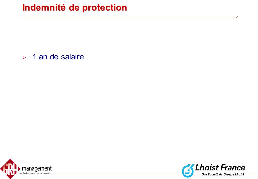 Indemnité de protection