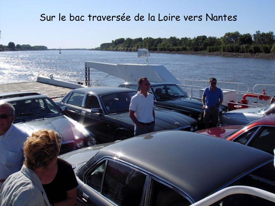 Sur le bac traversée de la Loire vers Nantes
