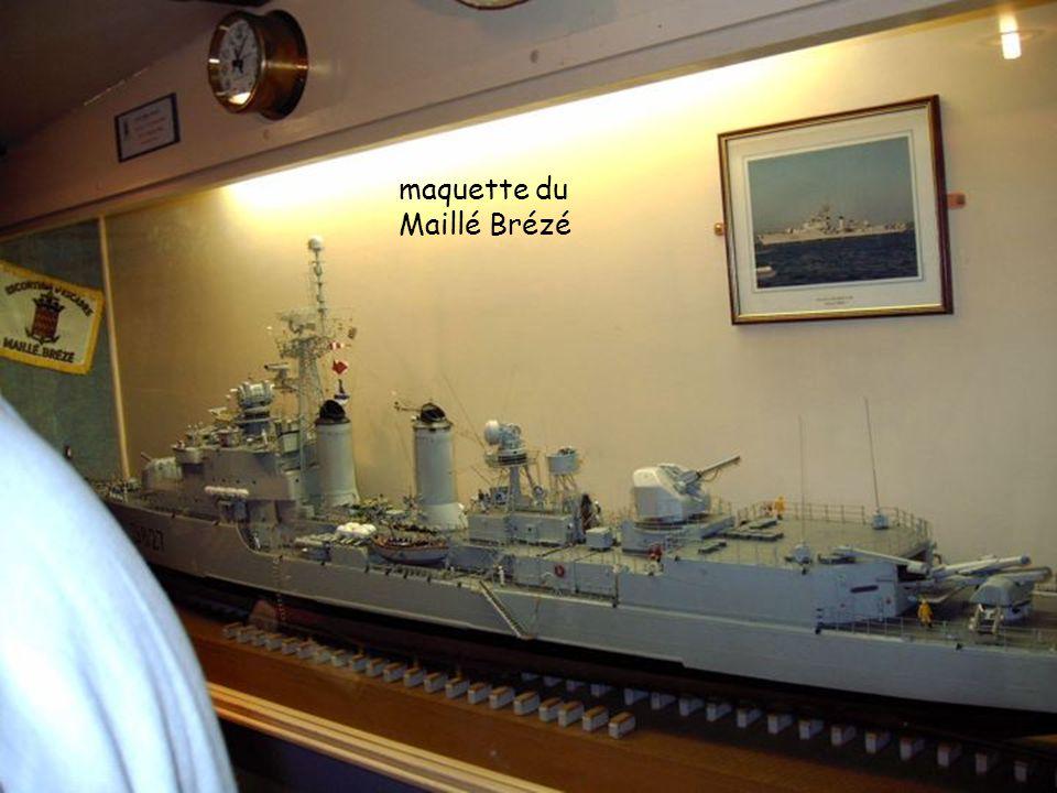 maquette du Maillé Brézé