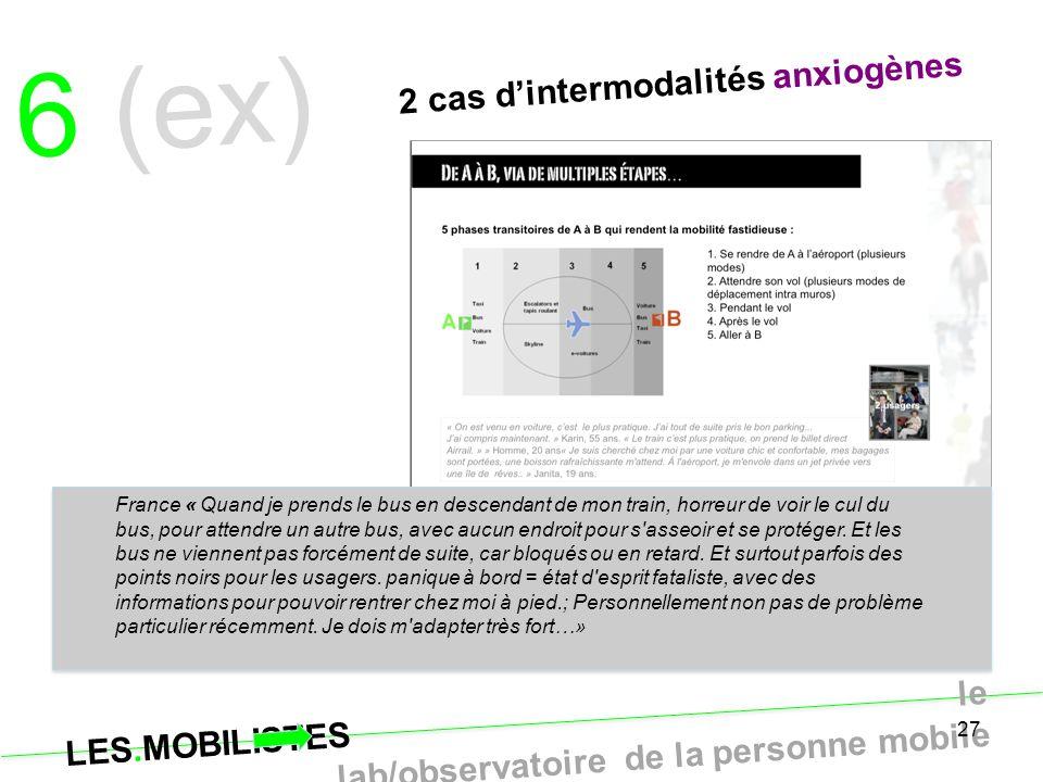 6 (ex) 2 cas d'intermodalités anxiogènes