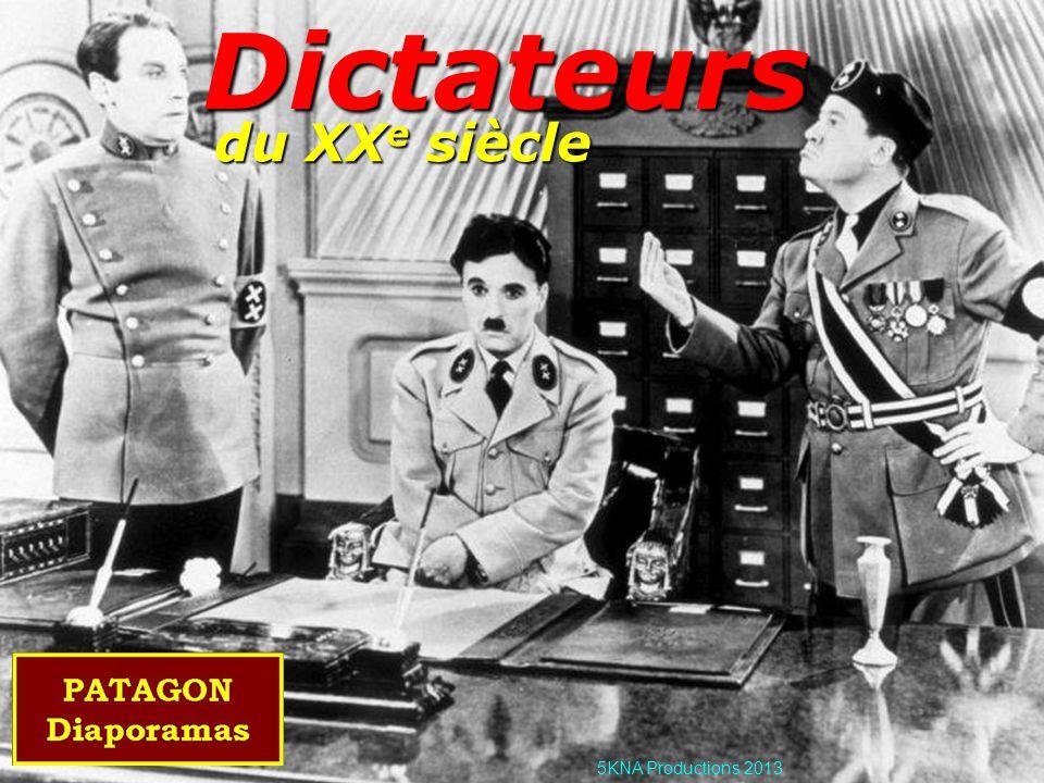 Dictateurs du XXe siècle 5KNA Productions 2013