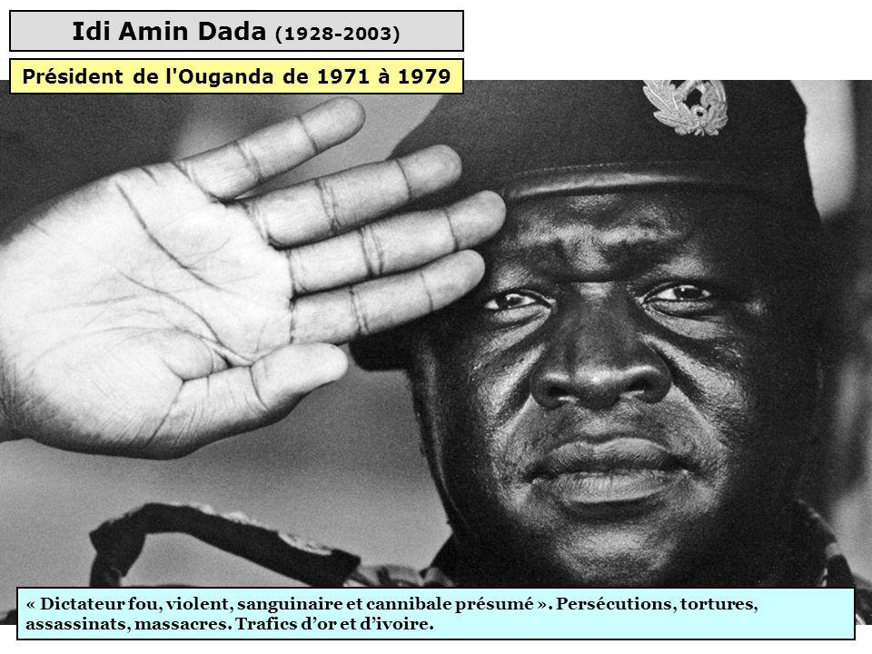 Président de l Ouganda de 1971 à 1979