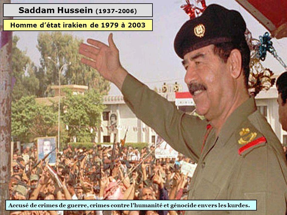 Homme d'état irakien de 1979 à 2003