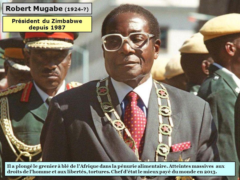 Président du Zimbabwe depuis 1987