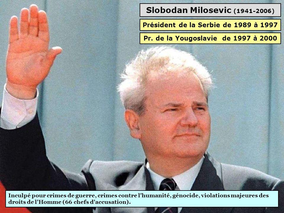 Slobodan Milosevic (1941-2006)