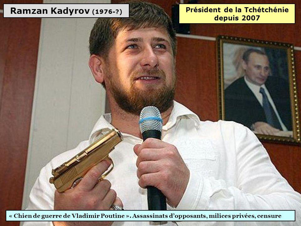 Président de la Tchétchénie depuis 2007