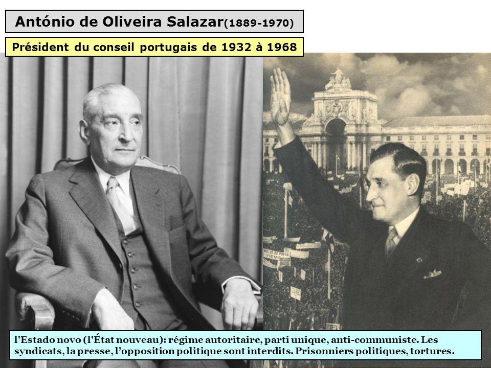 António de Oliveira Salazar(1889-1970)