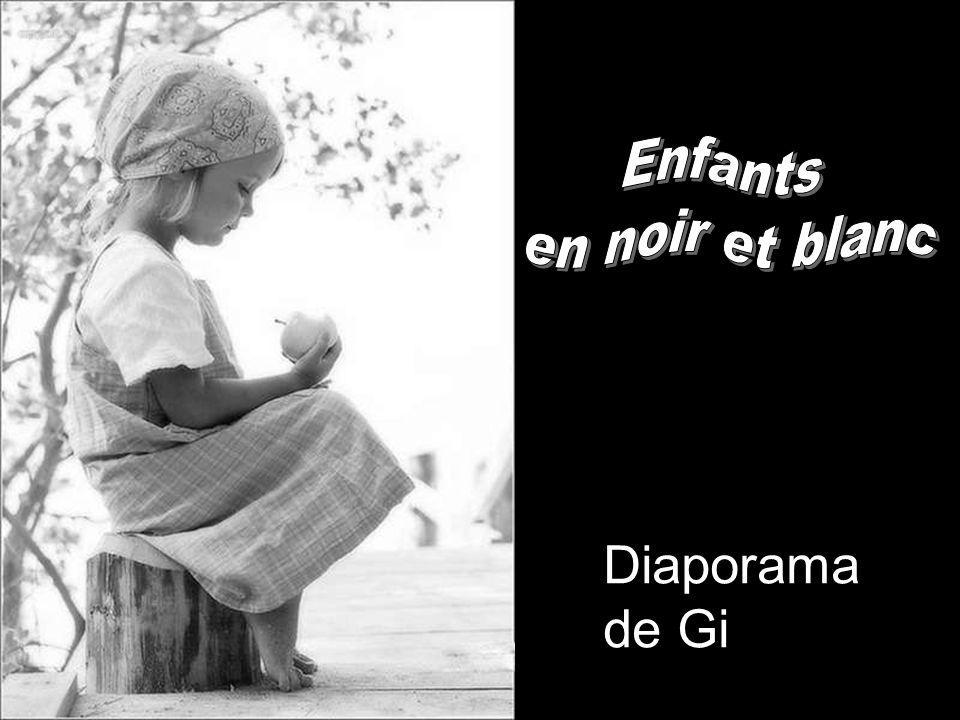 Enfants en noir et blanc Diaporama de Gi