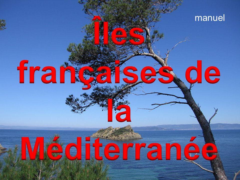 Îles françaises de la Méditerranée