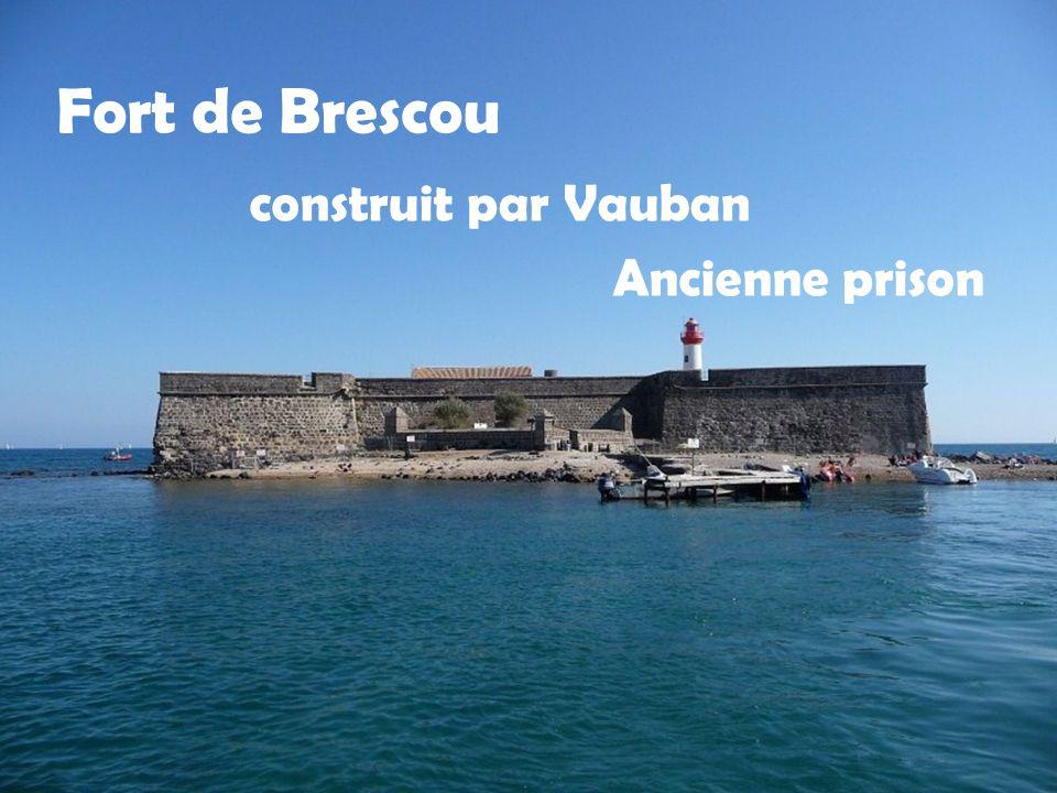 Fort de Brescou construit par Vauban Ancienne prison