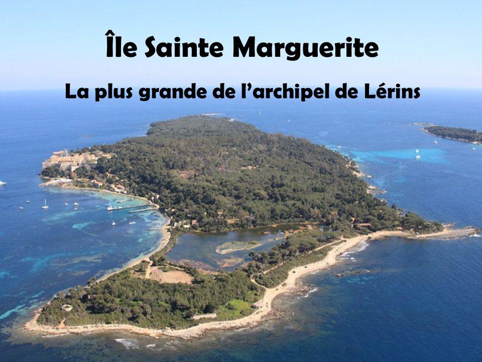 La plus grande de l'archipel de Lérins
