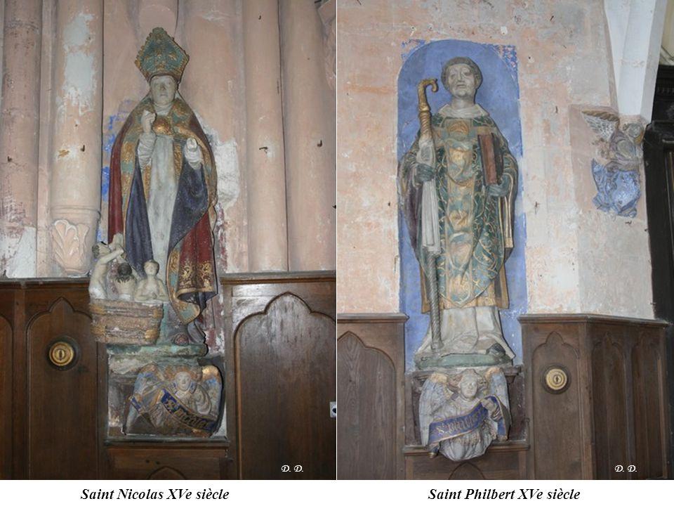Saint Nicolas XVe siècle Saint Philbert XVe siècle