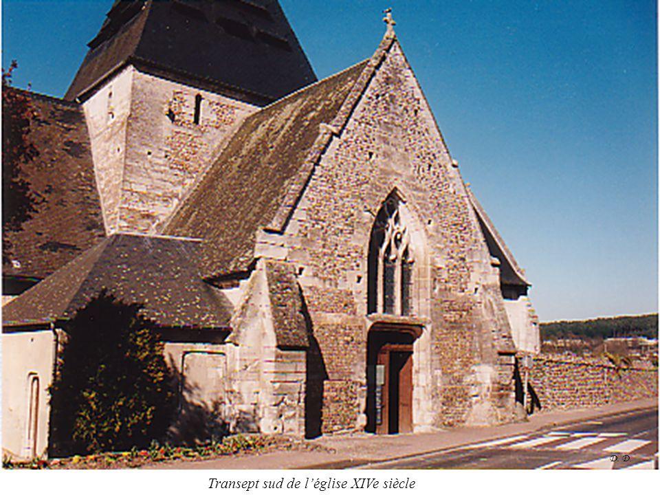 Transept sud de l'église XIVe siècle