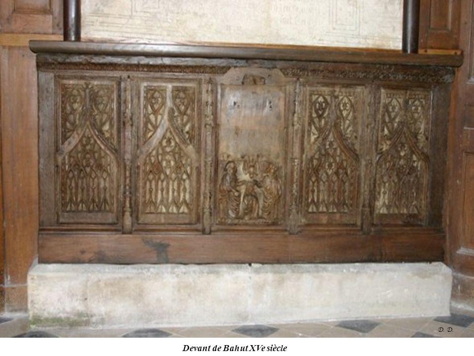 Devant de Bahut XVe siècle