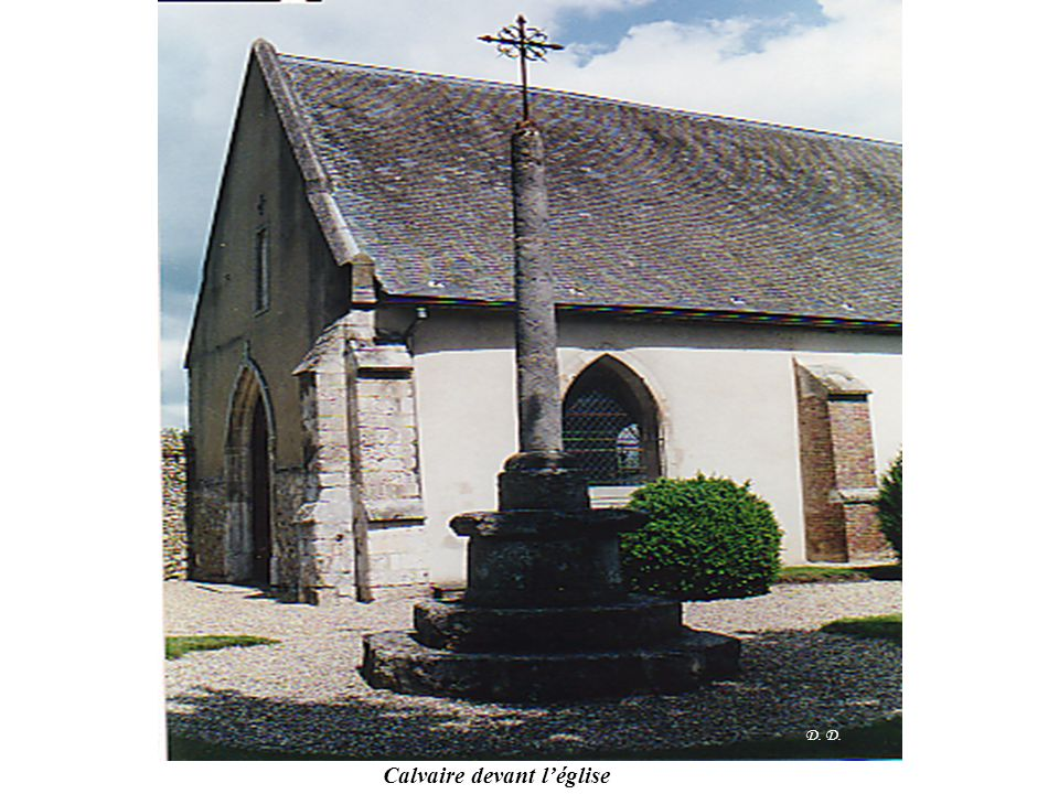 Calvaire devant l'église