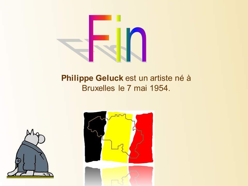 Philippe Geluck est un artiste né à Bruxelles le 7 mai 1954.