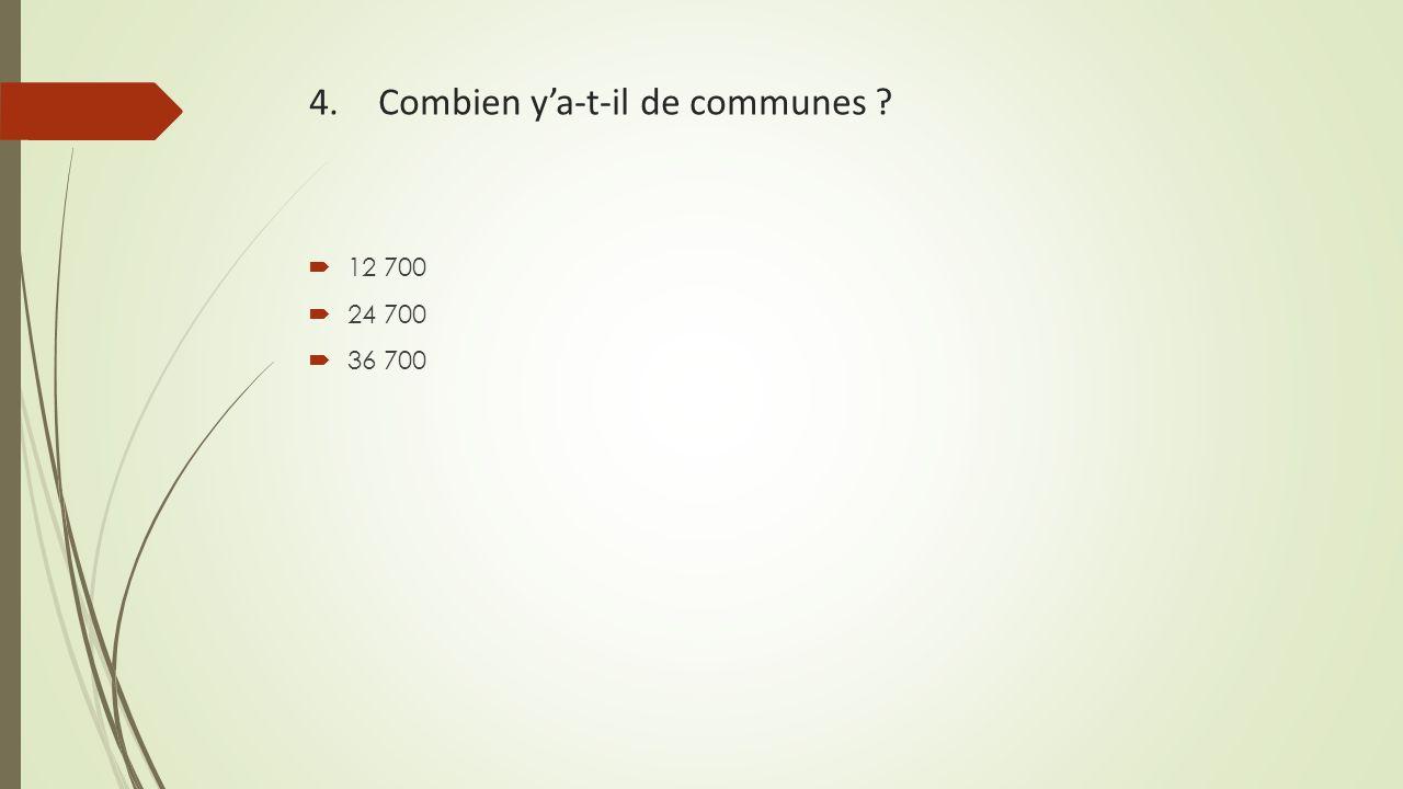 4. Combien y'a-t-il de communes