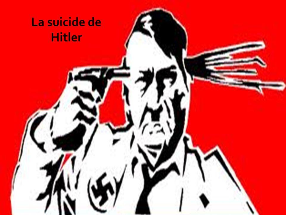 La suicide de Hitler