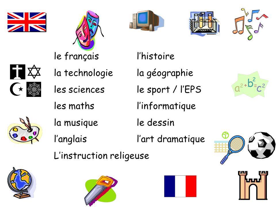 le français l'histoire