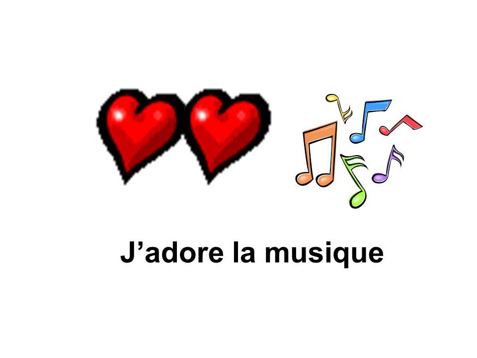 J'adore la musique