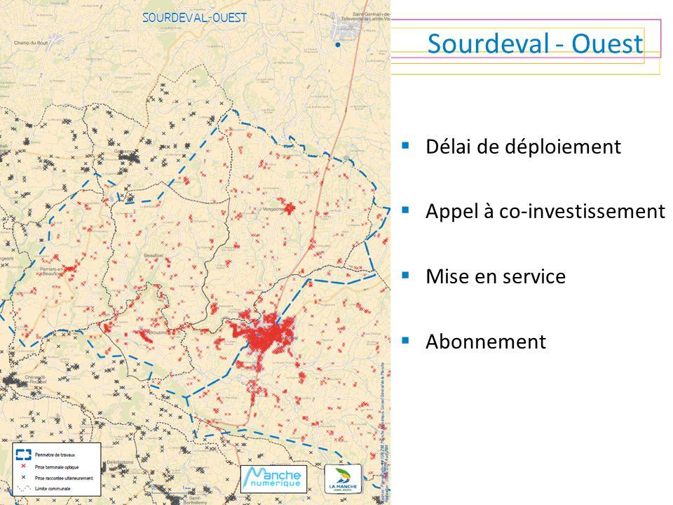 Sourdeval - Ouest Délai de déploiement Appel à co-investissement