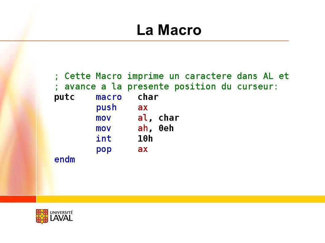 15/02/09 La Macro Vice-rectorat à la recherche / octobre 2005