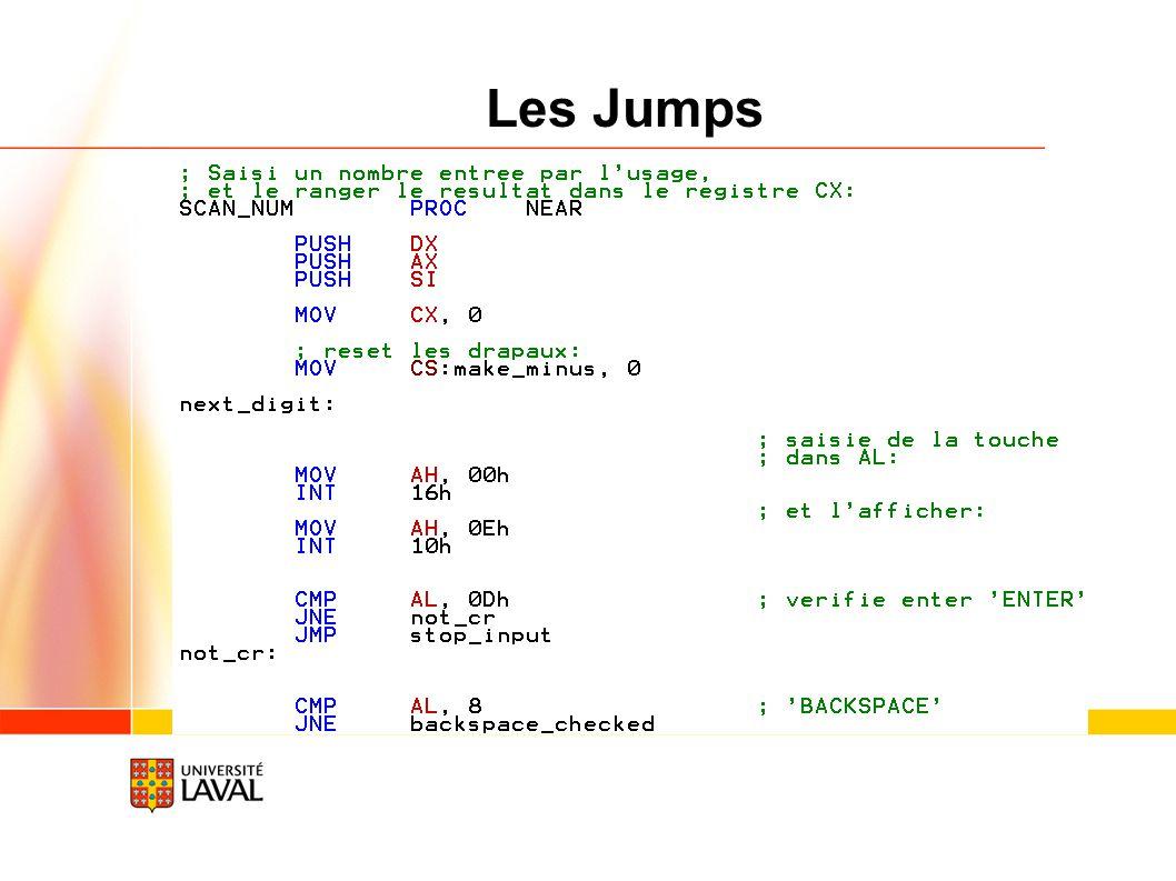 15/02/09 Les Jumps Vice-rectorat à la recherche / octobre 2005